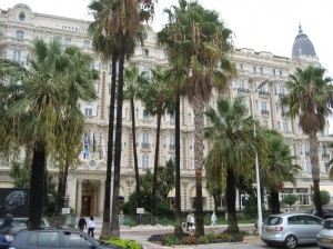 Hotel Carlton in Cannes