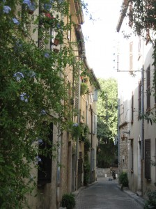 the street to my flat in Antibes