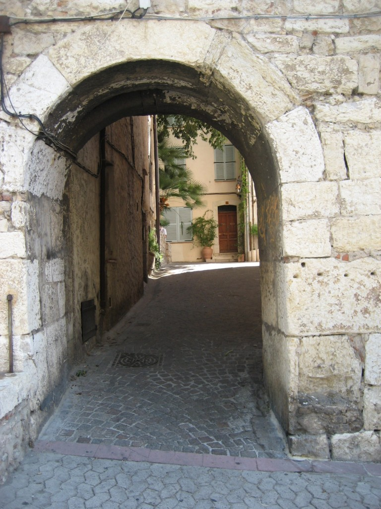 Antibes- the way to my apartment