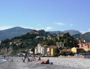 Ventimiglia's beach
