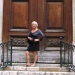 Me in Nice- I love the doors in France!