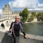 Me in front of the Seine