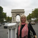 Me in front of Arc de Triumph